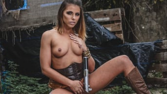 Adriana Chechik in 'Star Wars: The Last Temptation A DP XXX Parody Scene 3'