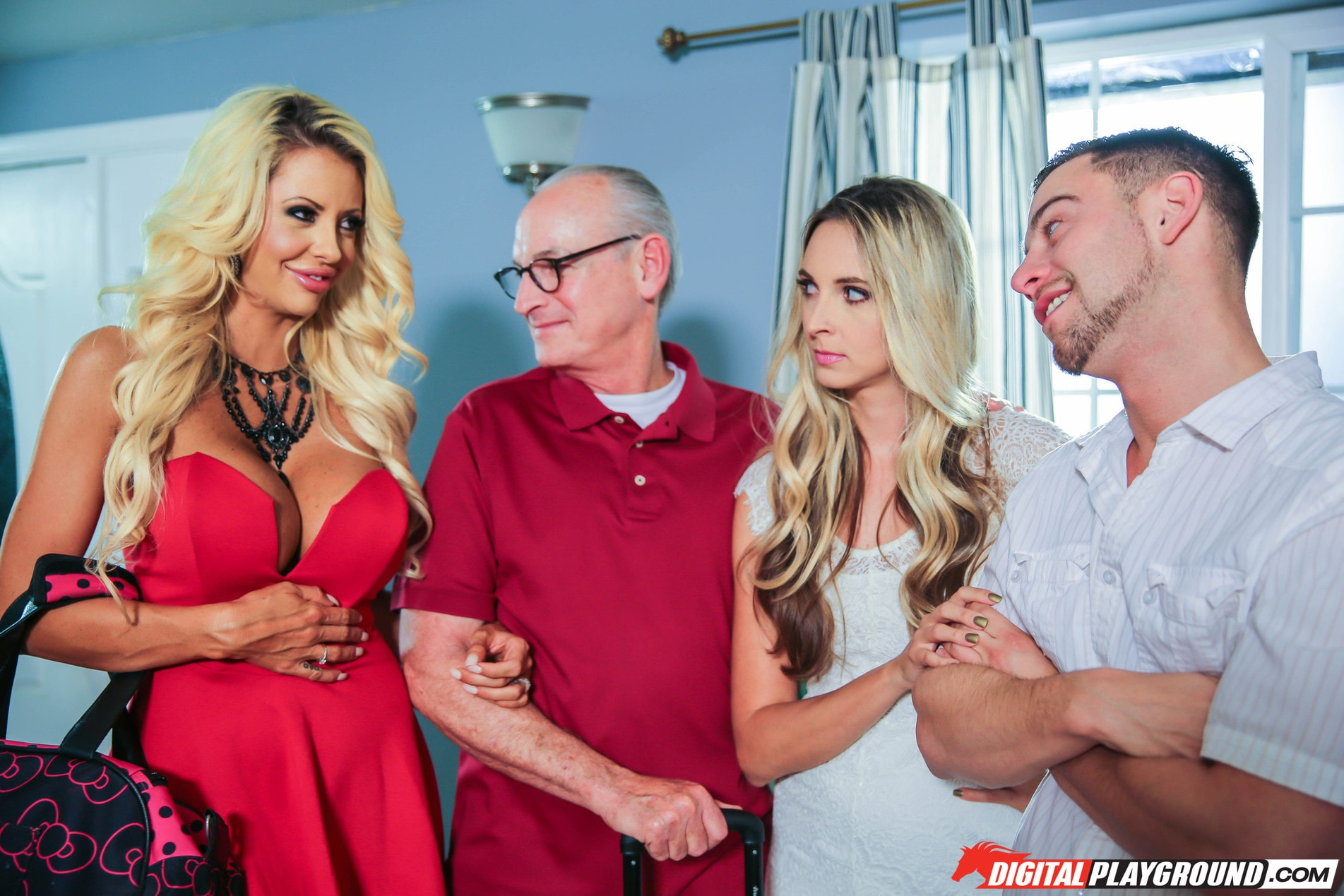 Digital Playground 'Welcoming The In-Laws' starring Allie Knox (Photo 144)