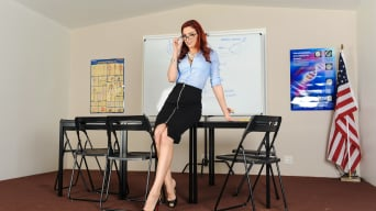 Aria Alexander in 'Teachers 2, Scene 5'