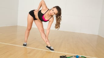 Cassidy Klein in 'A Hard Game of Racquetball'