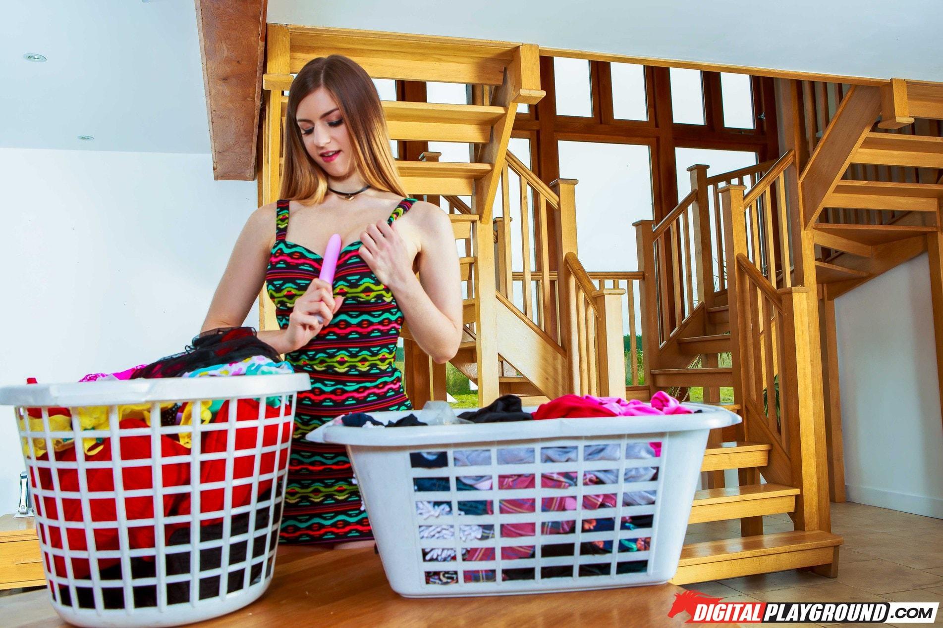 Digital Playground 'Eva's Dirty Laundry' starring Eva Lovia (Photo 104)